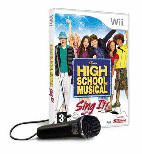 High School Musical: Sing It! + 1 Mikrofon