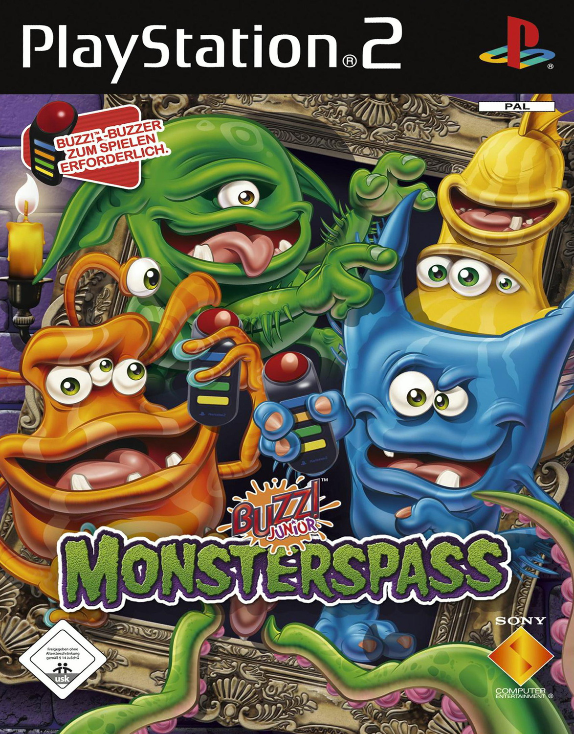 Buzz! Junior: Monsterspass [nur Software]