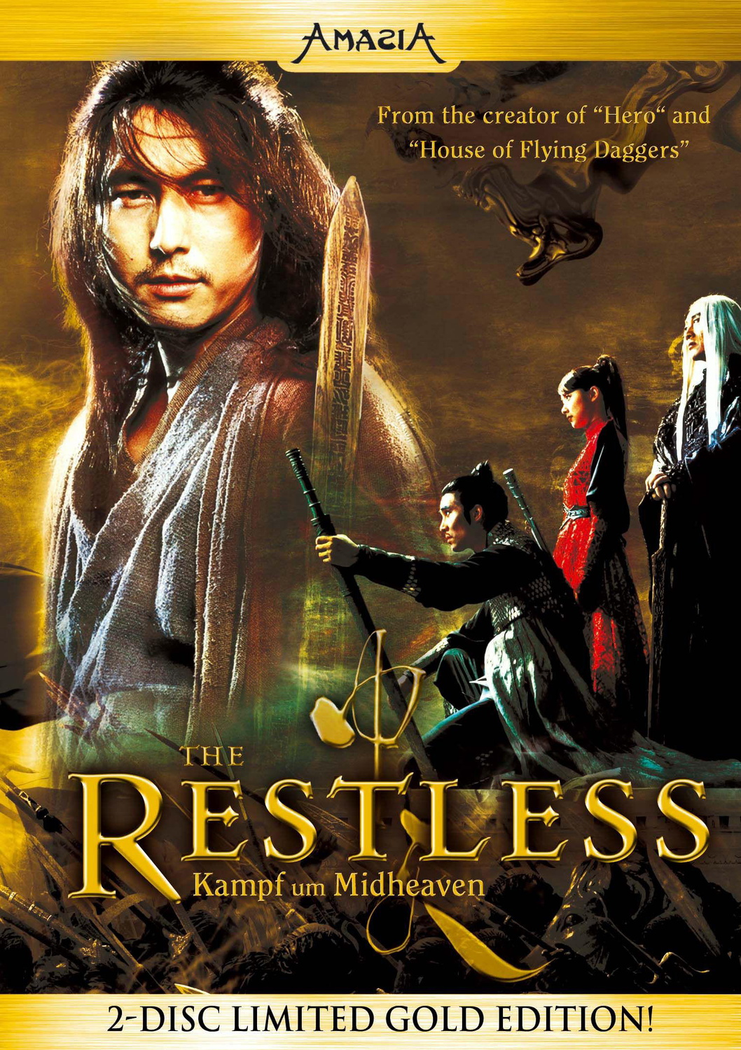 The Restless - Limited Gold Edition