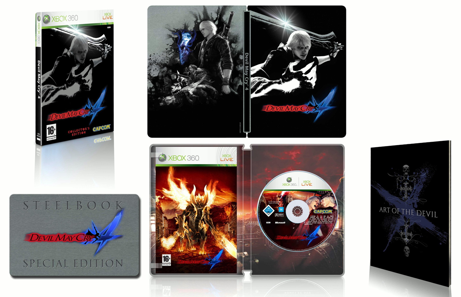 Devil May Cry 4 [Collectors Edition]
