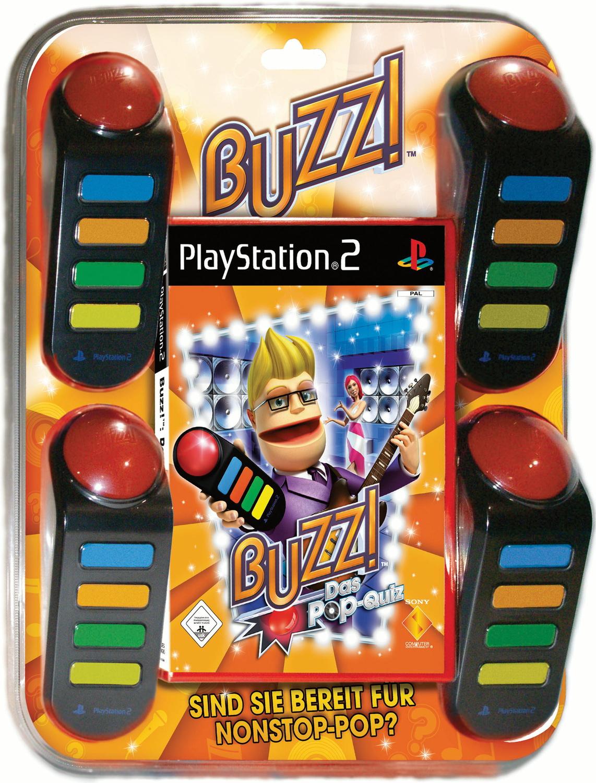 Buzz! Das Pop Quiz + 4 Buzzer