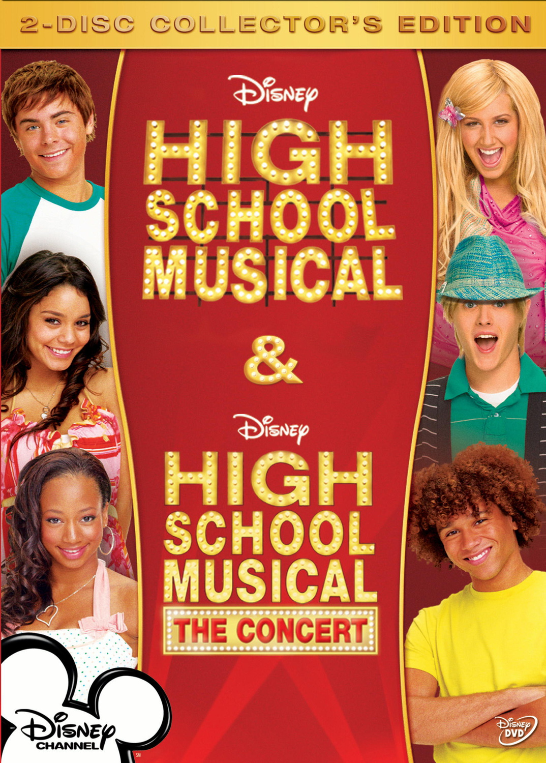 Highschool Musical Box (Highschool Musical 1 + ...