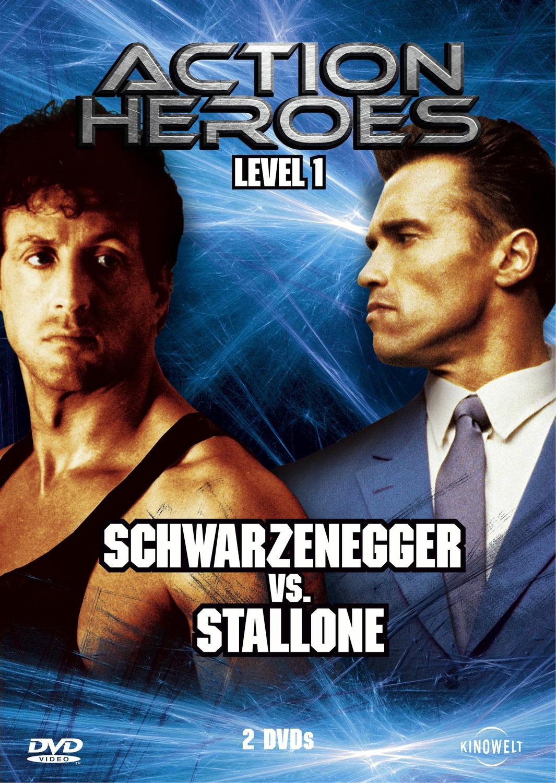 Action Heroes - Level 1: Schwarzenegger vs Stallone (Lock Up / Red Heat)