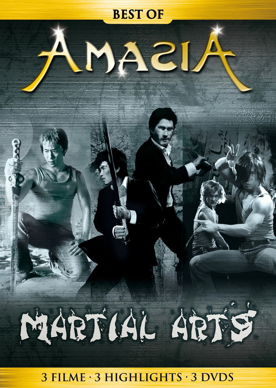 Best of Amazia: Martial Arts (3er-Box)