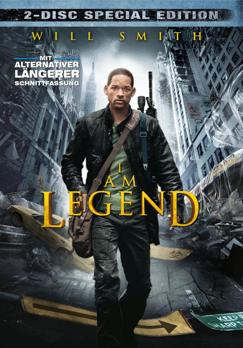 I Am Legend Ltd. Edition inkl. Buch