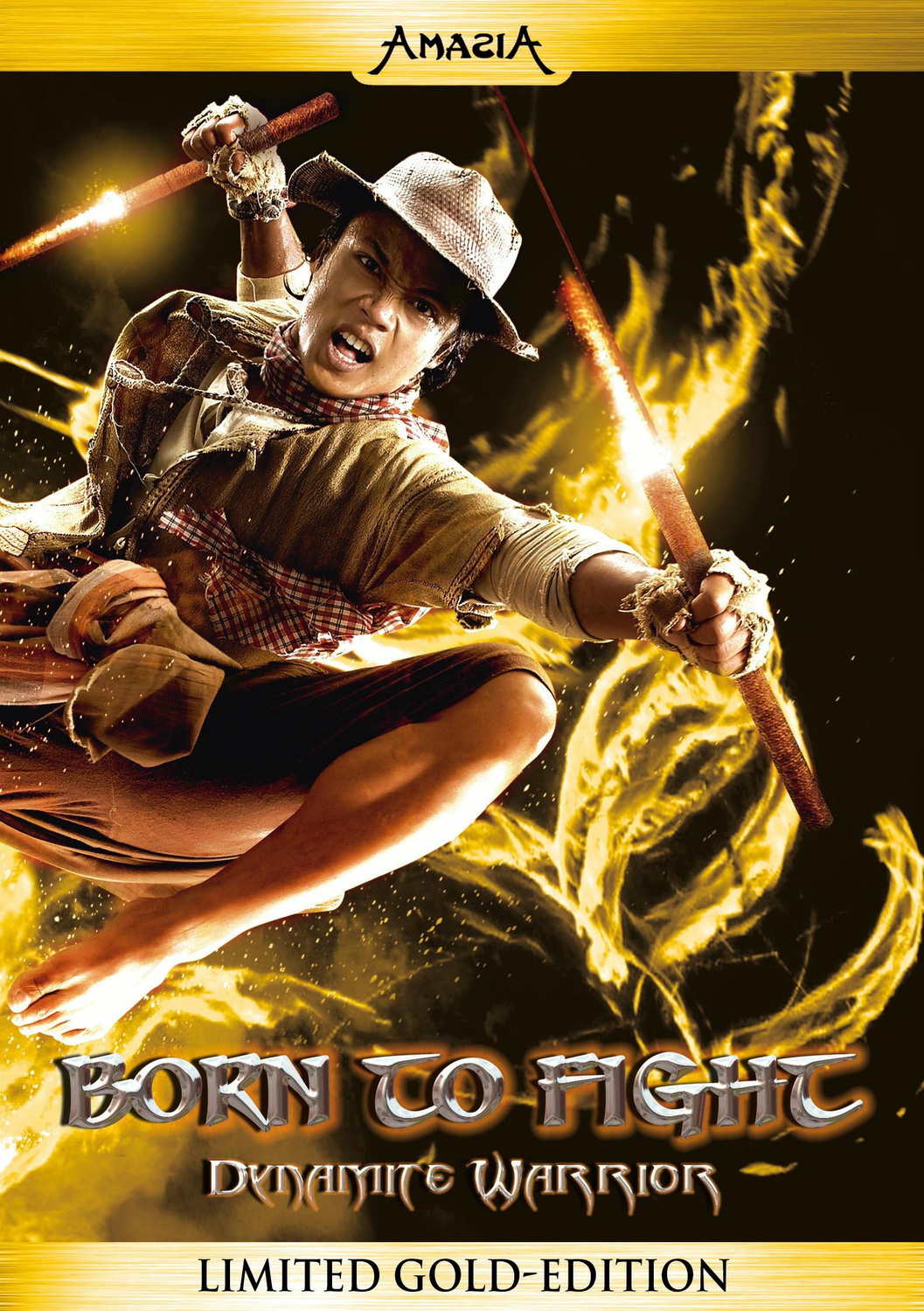 Born to Fight - Limited Gold Edition - Dynamite Warrior
