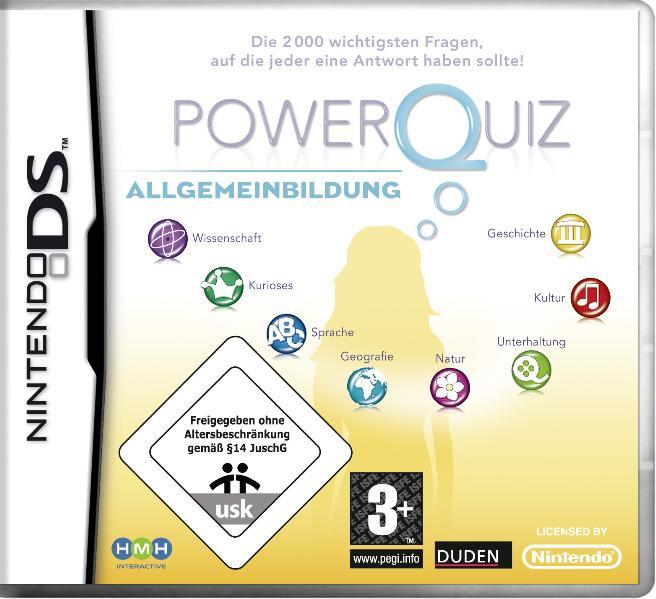 PowerQuiz: Allgemeinbildung