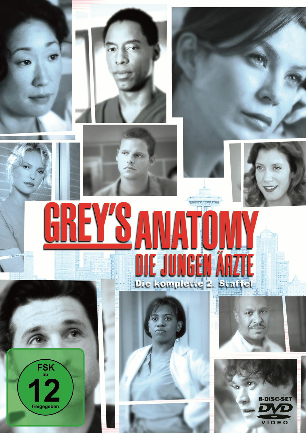 Grey´s Anatomy- Staffel 2 [8 DVDs]