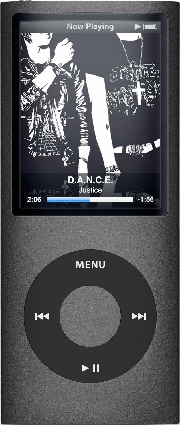 Apple iPod nano 4G 16GB schwarz