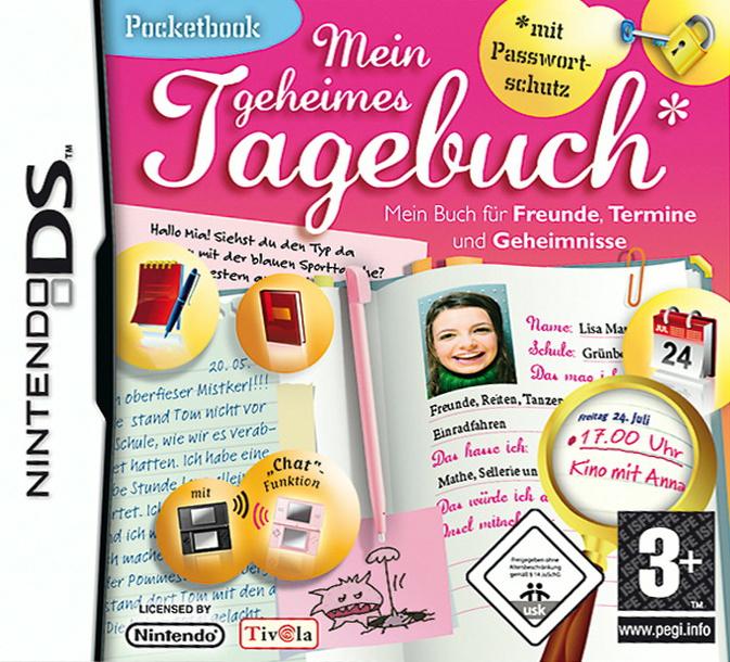 Pocketbook: Mein geheimes Tagebuch
