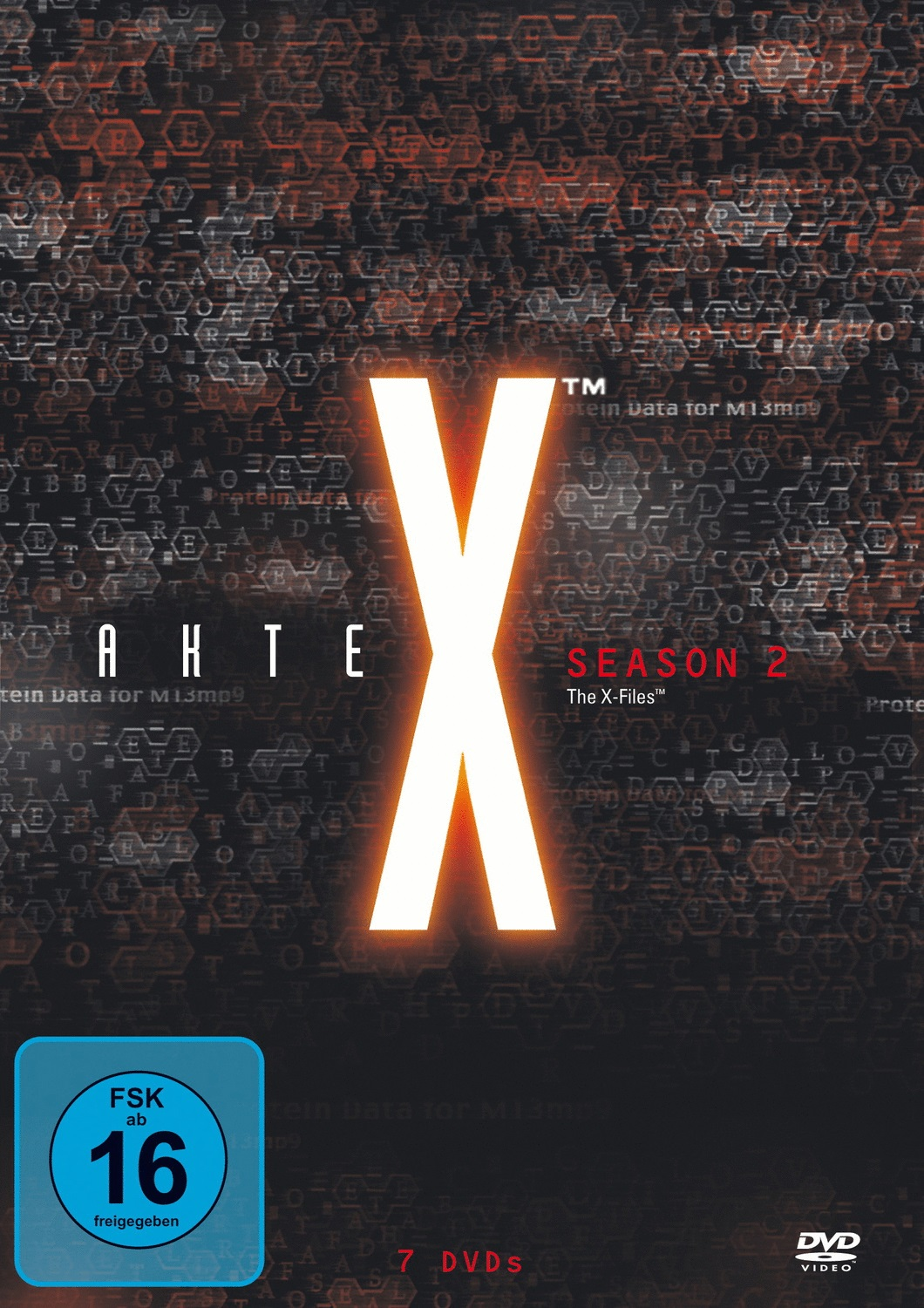 Akte X - Season 2 [7 DVDs, Collection]