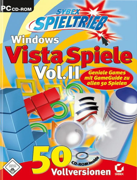 50 Windows Vista Spiele Spieltrieb(Action,Tetrix,Brettsp.)