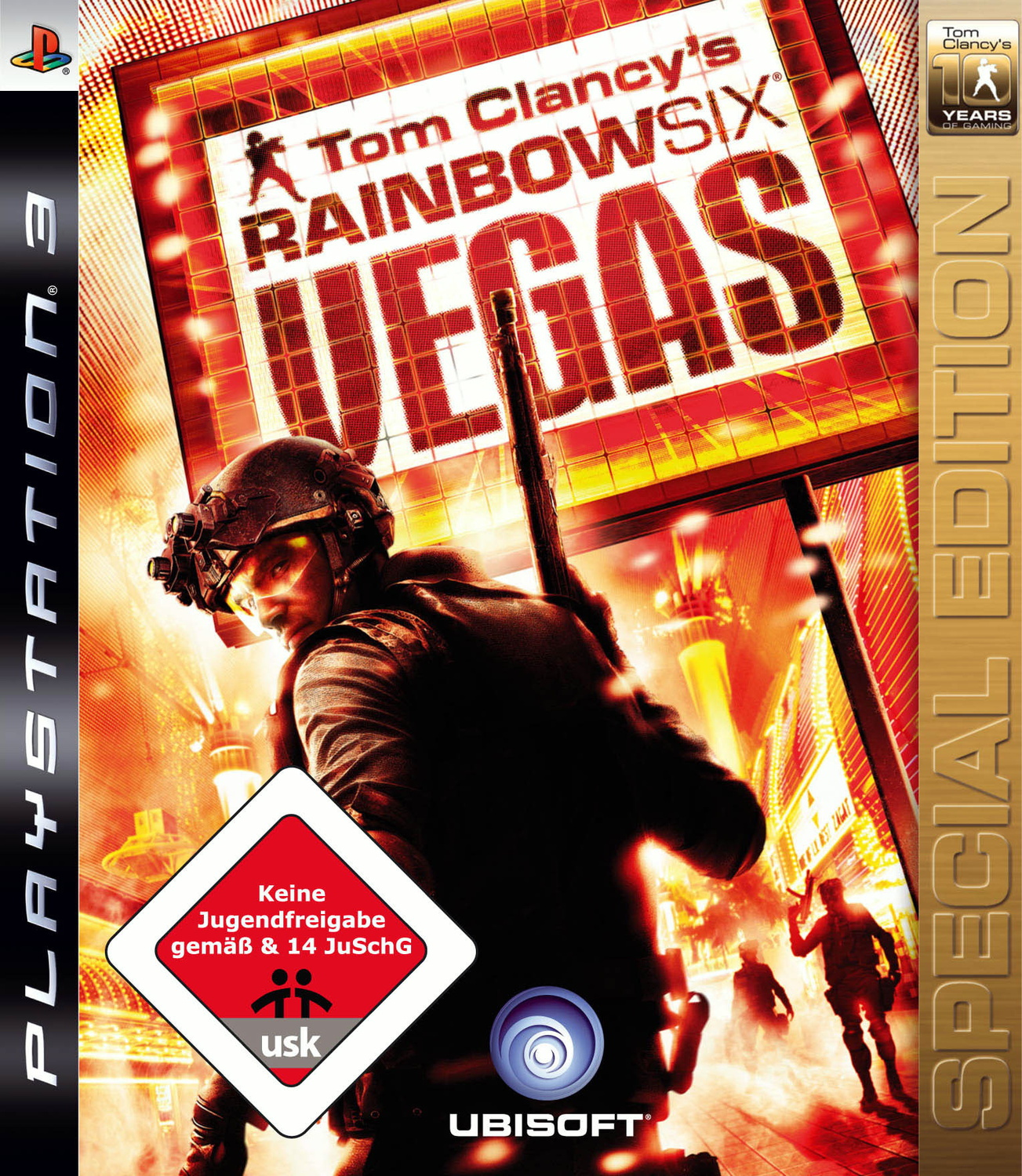 Rainbow Six Vegas - Tom Clancy´s - TYOGE 10 Years of Gaming Special Edition