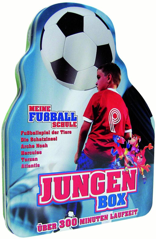Jungen Box: Meine Fußballschule (Metallbox)