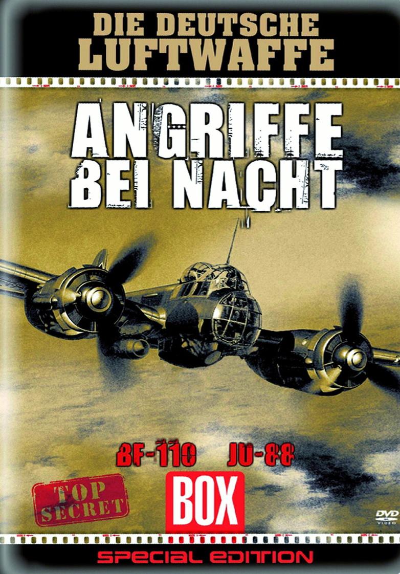 Die dt.Luftwaffe: Angriffe bei Nacht (Metallbox...