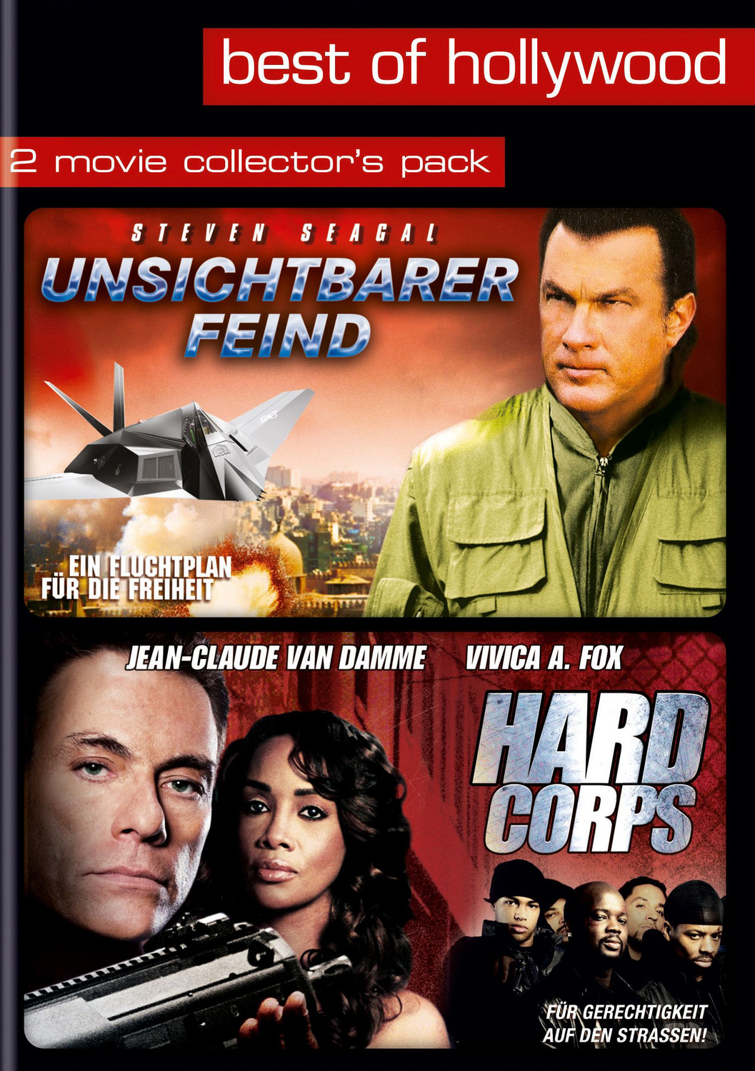 Best Of Hollywood: 2 Movie Collection 30: Unsichtbarer Feind / Hard Corps