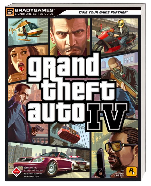Grand Theft Auto IV - Löschungsbuch für alle Systeme