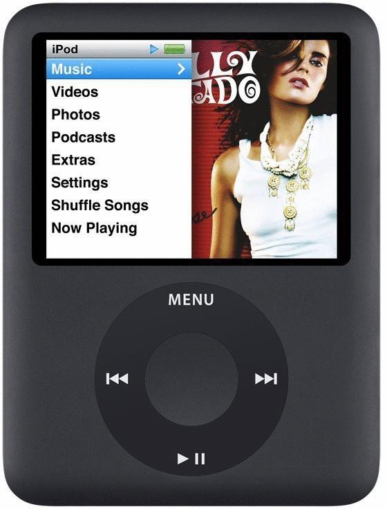 Vorschaubild von Apple iPod nano 3G 8GB schwarz