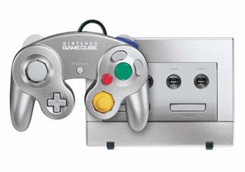 Nintendo GameCube [inkl. Controller] silber