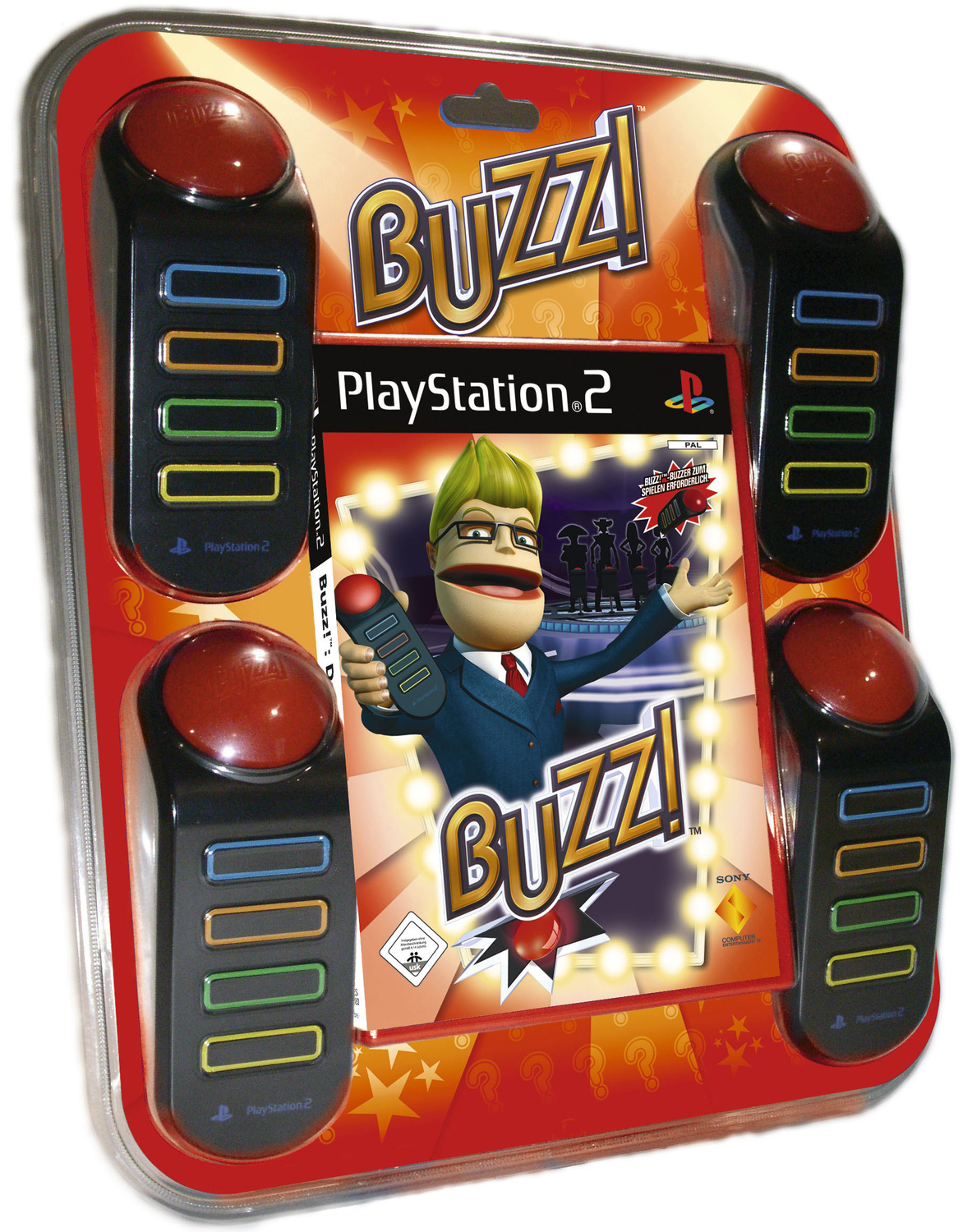 Buzz! Das grosse Quiz + 4 Buzzer