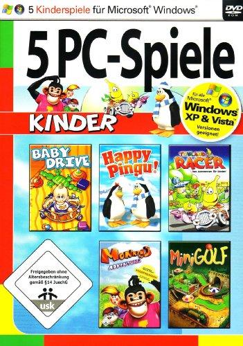 5 PC Spiele: Kinder