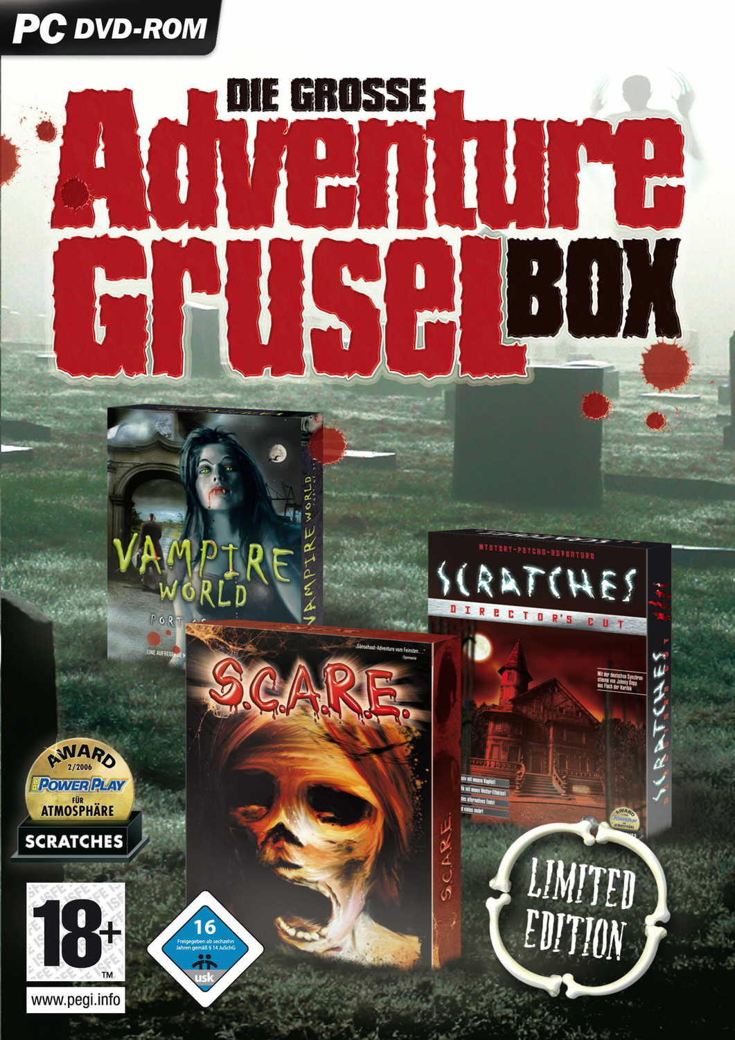 Die Grosse Adventure-Grusel-Box