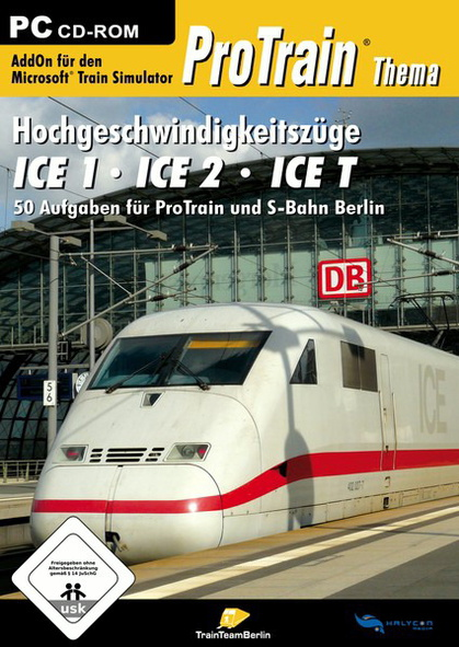 ProTrain Hochgeschwindigkeitszug ICE
