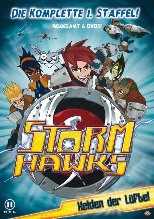 Storm Hawks - Helden der Lüfte - Die komplette 1. Staffel