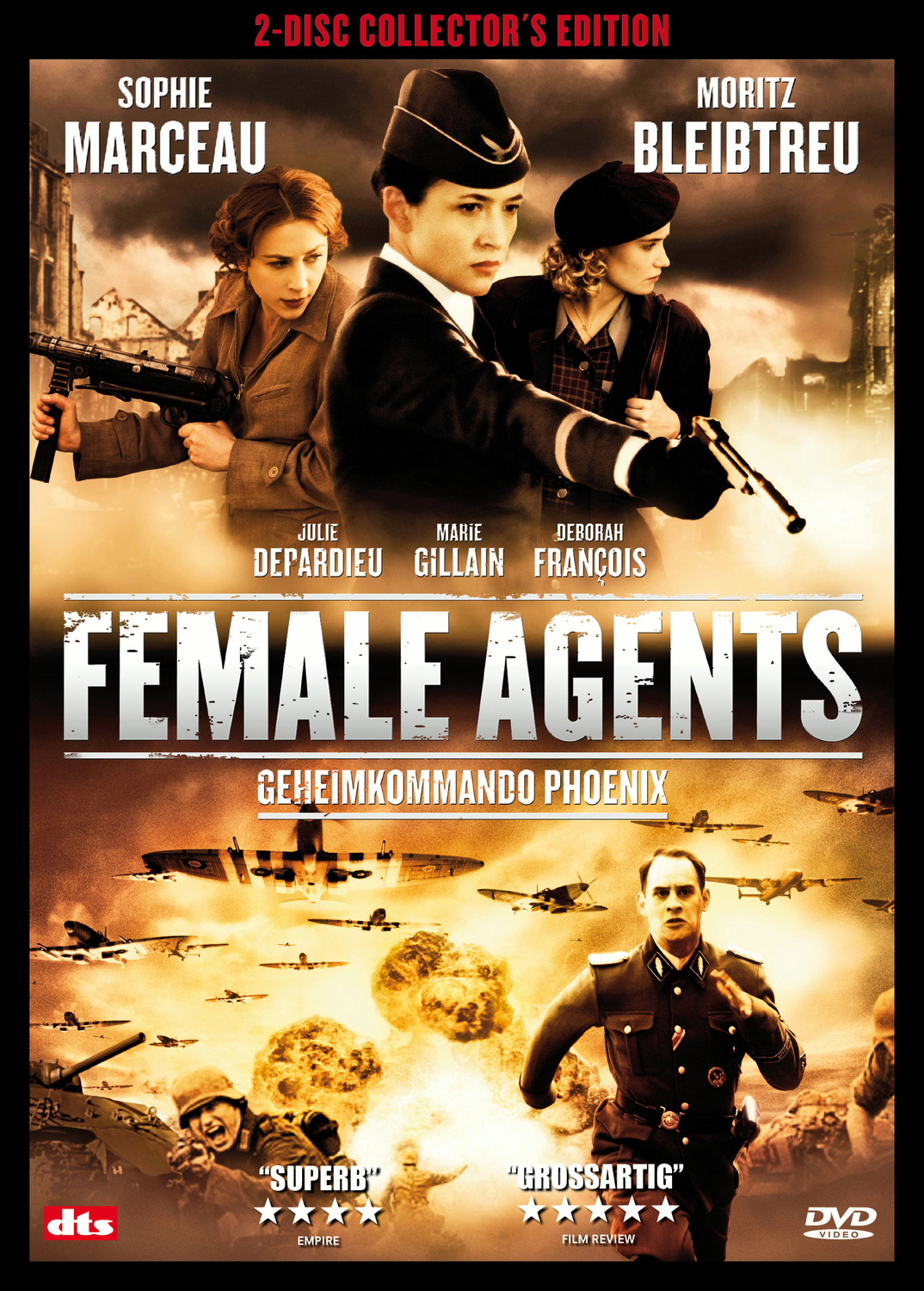Female Agents (2 DVDs)