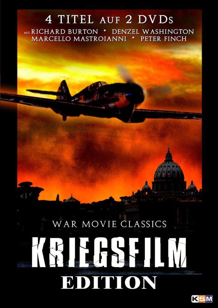 Kriegsfilm Edition (4 Filme auf 2 DVDs)