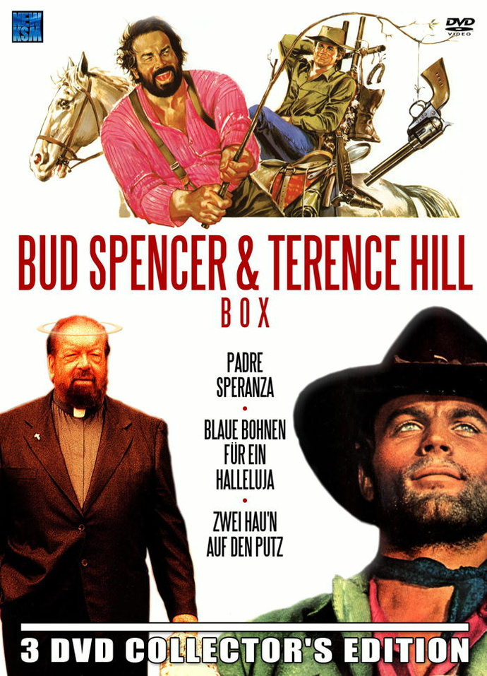 Bud Spencer & Terence Hill Box 3 DVDs
