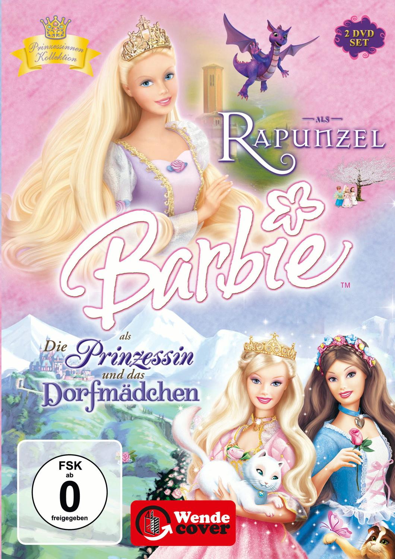 Barbie Märchen Box: Rapunzel / Dorfmädchen