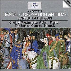 Simon Preston - Archiv Masters - Händel (Corona...