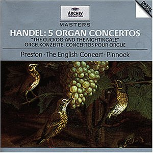 Simon Preston - Archiv Masters - Händel (Orgelk...