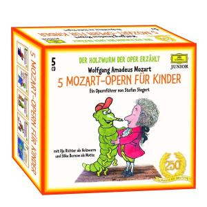 Ilja Richter - Holzwurm der Oper-5 Mozart-Opern für Kinder