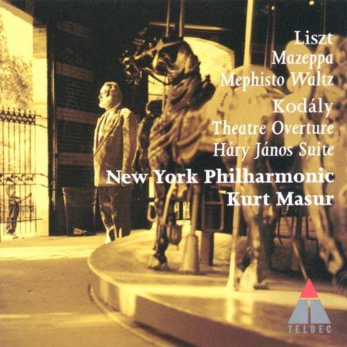 Kurt Masur - Liszt: Mephisto Waltz, Mazeppa/Kodaly: Hary Janos Suite, Theatre Overture