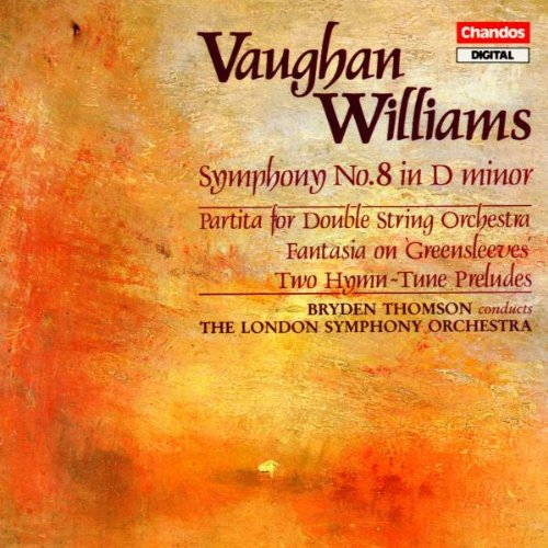 Thomson - Ralph Vaughan Williams: Symphony No. 8 / 2 Hymn-Tune Preludes / Fantasia on Greensleeves / Partita for Double String Orchestra