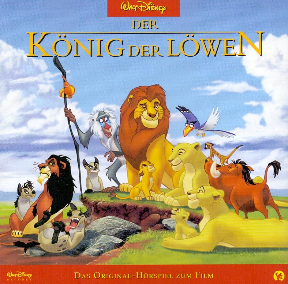 Der König der Löwen: Das Original-Hörspiel zum Film - Walt Disney
