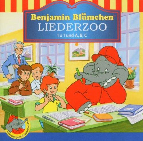Benjamin Blümchen - Benjamin Blümchen. Liederzoo. 1 x 1 und A, B, C. CD.