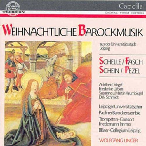 Wolfgang Unger - Weihnachtliche Barockmusik aus der Universitätsstadt Leipzig