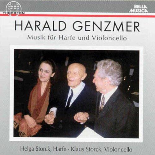 Helga Storck - Musik für Harfe und Violoncello