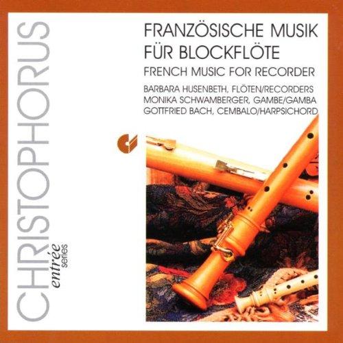 Husenbeth - Französische Musik für Blockflöte