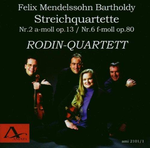 Rodin Quartett - Streichquartette 2 & 6