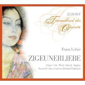 Rudolf Schock - Franz Lehar: Zigeunerliebe (Operette) (Gesamtaufnahme) (2 CD)