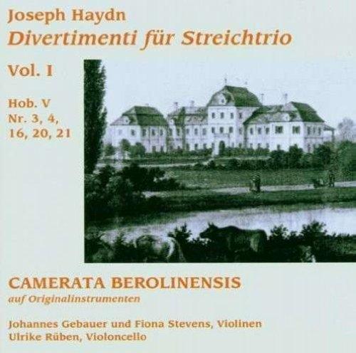 Camerata Berolinensis - Divertimenti für Streichtrio