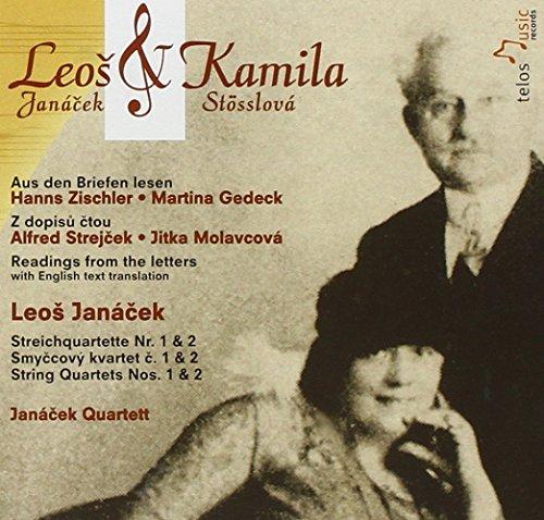 Janacek Quartett - Streichquartett 1+2