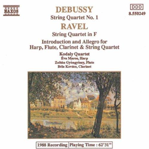 Kodaly Quartett - Debussy / Ravel Streichquartette