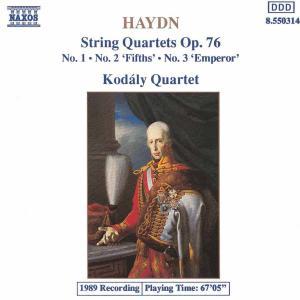 Kodaly Quartett - Haydn Streichquartette Op. 76 1-3 Koda