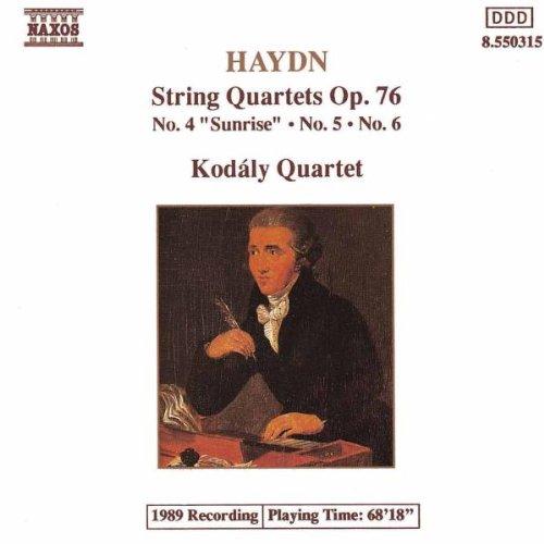 Kodaly-Quartett - Haydn Streichquartette 4-6 Kodaly-Quartett