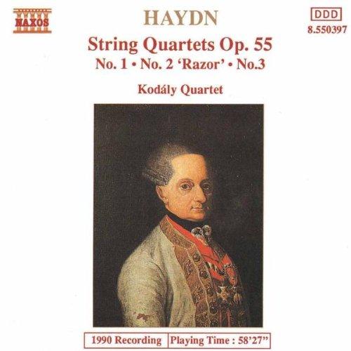 Kodaly-Quartette - Haydn Streichquartette Op. 55 1-3 Koda